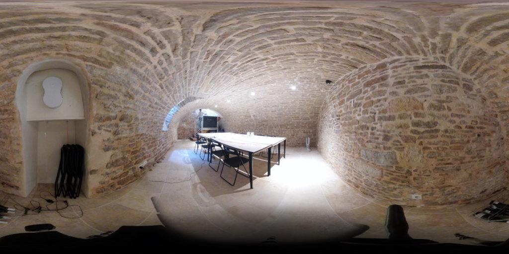 Wine Cellar Classroom at Burgundy Wine School
